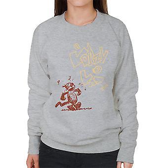 Krazy Kat Sing Sketch Women's Sweatshirt