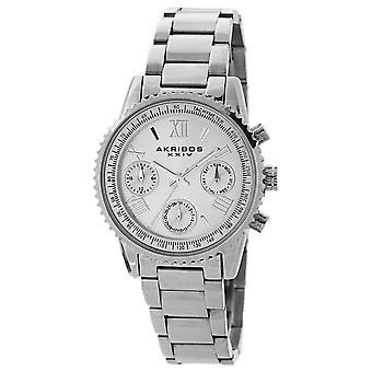 Akribos XXIV AKS191100SS Women's Quartz Multifunction Bracelet Watch