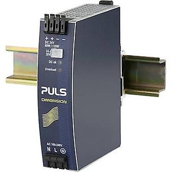 PULS DIMENSION QS3.241 Rail mounted PSU (DIN) 24 Vdc 3.4 A 80 W 1 x