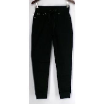Diane Gilman Jeans Super Stretch Easy Fit Jeggings Femmes noires 421-054