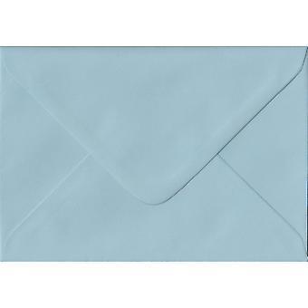 Baby Blue Gummed Gift/Place Card Coloured Blue Envelopes. 100gsm FSC Sustainable Paper. 70mm x 110mm. Banker Style Envelope.