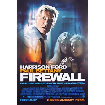 Firewall (Double-Sided Regular) Original Cinema Poster