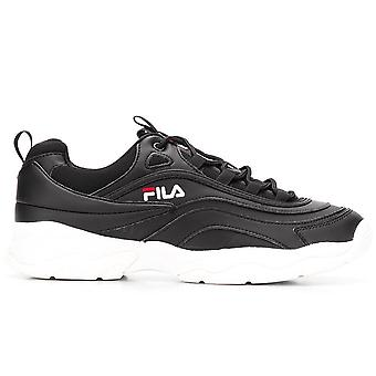 Ray Black Low-Top Sneakers
