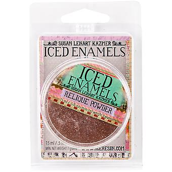 ICED Enamels .5oz-Relique Glitz Copper SLK-1053