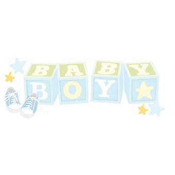 Jolee's Boutique Title Wave Stickers Baby Boy Spjt 232