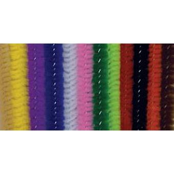 Chenille tiges 6Mm 12