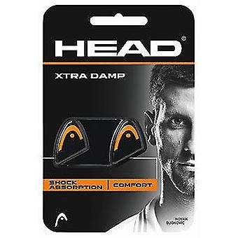 Head Xtra Damp 2er Pack orange/schwarz