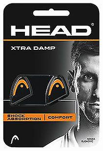 Head Xtra Damp 2er Pack orange / black