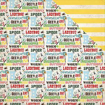 Bug Collection Double-Sided Cardstock 12