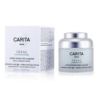 Carita Ideal hidratación rica Laguna crema 50ml / 1.69 oz