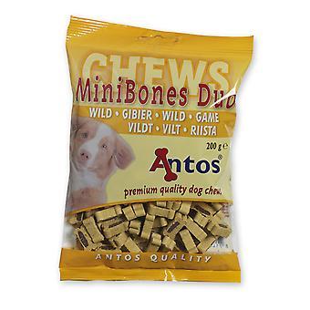 Antos Mini knogler spil uddannelse godbid 200g (pakke med 14)
