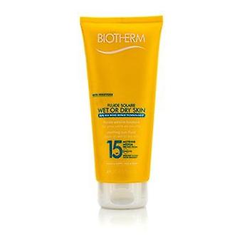 Biotherm Fluide Solaire Wet Or Dry Skin Melting Sun Fluid SPF 15 For Face & Body - Water Resistant - 200ml/6.76oz