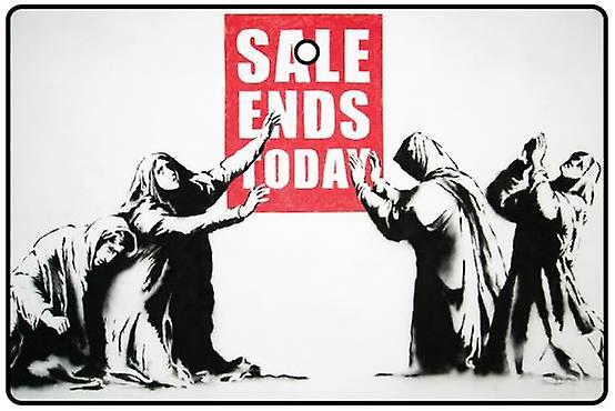 Banksy Sale Ends Today Car Air Freshener
