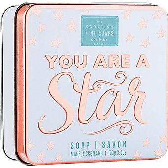 Scottish Fine Soaps You Are a Star Soap in a Tin