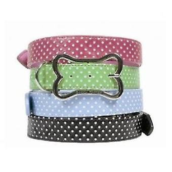 Doggy Things POLKA VERDE COLLAR (Dogs , Walking Accessories , Collars)