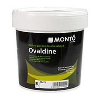 Monto pinturas Ovaldine semisatin White (DIY , Painting , Painting , Walls and roofs)