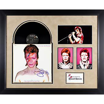 David Bowie - Aladdin Sane - Signed Album