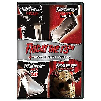 Friday the 13th Deluxe Edition Four Pack [DVD] USA import