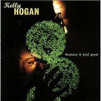 Kelly Hogan - Because It Feel Good [CD] USA import