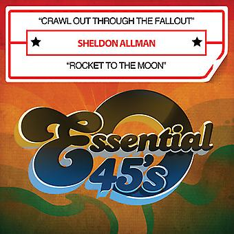 Sheldon Allman - Crawl Out Through the Fallout/Rocket to the Moon [CD] USA import
