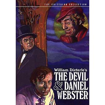Devil & Daniel Webster [DVD] USA import