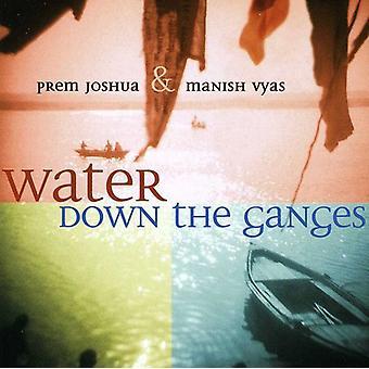 Prem Joshua & Manish Ugilt - vand ned Ganges [CD] USA import