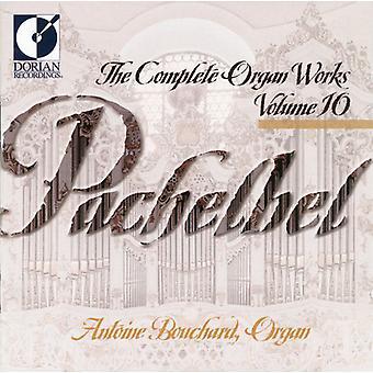 J. Pachelbel - Pachelbel: The Complete Organ Works, Vol. 11 [CD] USA import