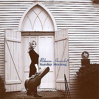 Rebecca Henricks - søndag morgen [CD] USA Importer