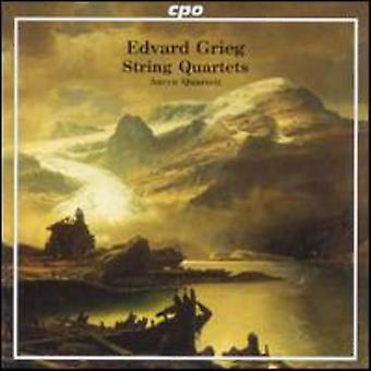 E. Grieg - Grieg: String Quartets [CD] USA import