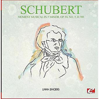 Schubert - Moment Musical in F Minor Op. 94 No. 5 D.780 [CD] USA import