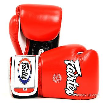 Fairtex Boxing Gloves 3 Tone - Red