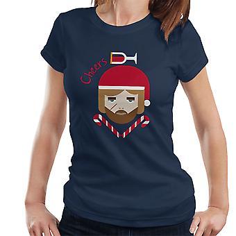 Cheers Tyrian Lannister spelet av troner jul Womens T-Shirt