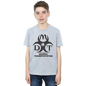 Harry Potter Boys Department of Magical Transportation Logo T-Shirt