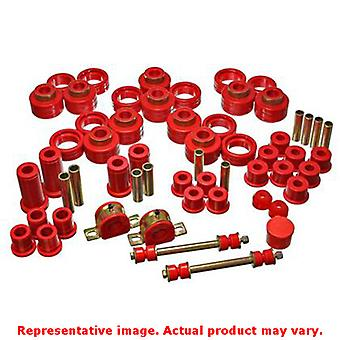 Energy Suspension Hyper-Flex System 3.18125R Red Fits:CHEVROLET 1995 - 1997 TAH