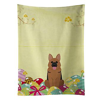 Carolines Treasures  BB6067KTWL Easter Eggs German Shepherd Kitchen Towel