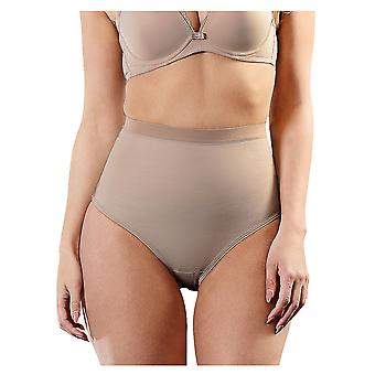 Esbelt ES262 Women's Nude Firm/Medium Control Slimming Shaping High Waist Brief