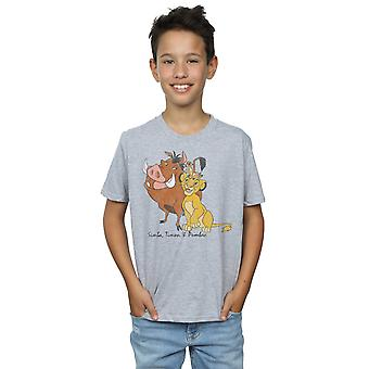 Disney Boys The Lion King Classic Simba, Timon and Pumbaa T-Shirt