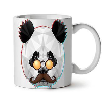 Old Hippie Panda Fashion NEW White Tea Coffee Ceramic Mug 11 oz | Wellcoda