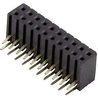 Receptacles (standard) No. of rows: 2 Pins per row: 10 Connfly 1389926 1 pc(s)