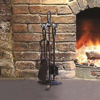 a'la Maison Fireside Fireplace Traditional Companion Set.