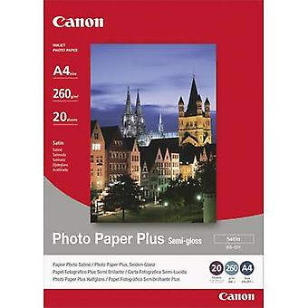 Photo paper Canon Photo Paper Plus Semi-gloss SG-201 1686B021 A4