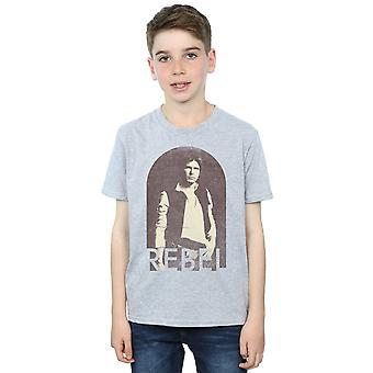 Star Wars jongens Han Solo Rebel T-Shirt