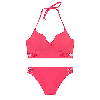 LingaDore 2913-151 Women's Wander Pink Solid Colour Swimwear Beachwear Bikini Set