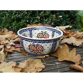 Golven rand Bowl, ↑6, 5 cm, Ø14cm, trad 69, BSN 60865