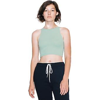 American Apparel Womens/Ladies Cotton Spandex Sleeveless Crop Top
