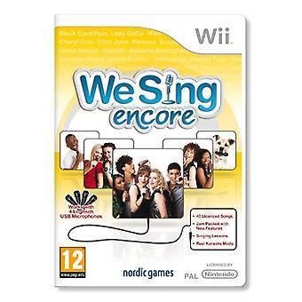 Nous chantons Encore (Wii)