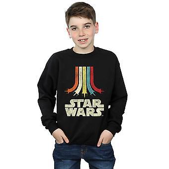Star Wars gutter Retro Rainbow Sweatshirt