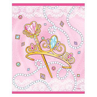 Nieuwe roze prinses Loot tas