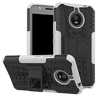 Hybrid case 2 piece SWL outdoor white for Motorola Moto E4 plus bag case cover