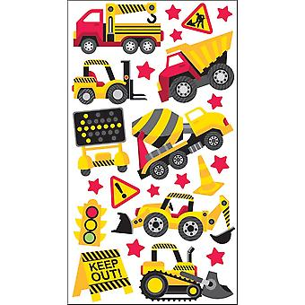 Sticko Stickers-Construction Zone